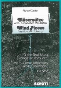 Zettler, R: Wind Pieces from European folksongs
