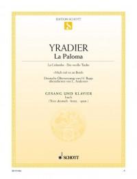 Yradier, S d: La Paloma D major