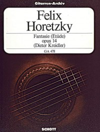 Horecki, F: Fantasie (Etüde) op. 14