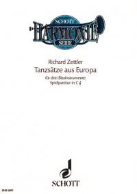 Zettler, R: Dance Movements from Europe