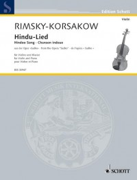 Rimsky-Korsakov, N: Hindu-Lied