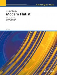 Zgraja, K: Modern Flutist Vol. 2