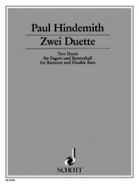 Hindemith, P: 2 Duets