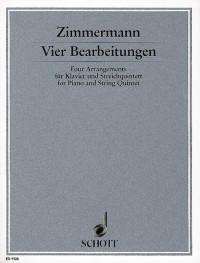 Zimmermann, B A: 4 Bearbeitungen