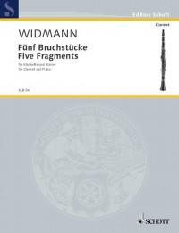 Widmann, J: Five Fragments