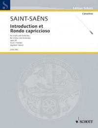 Saint-Saëns, C: Introduction et Rondo capriccioso op. 28