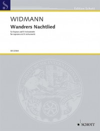 Widmann, J: Wandrers Nachtlied