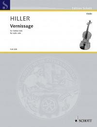 Hiller, W: Vernissage