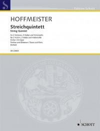 Hoffmeister, F A: String Quintet D major