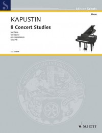 Kapustin, N: 8 Concert Studies op. 40