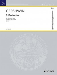 Gershwin: 3 Preludes for Oboe and Piano