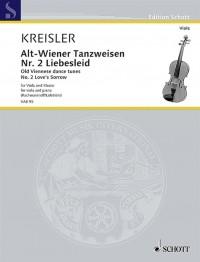 Fritz Kreisler:  Liebesleid