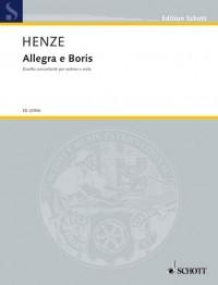 Henze, H W: Allegra e Boris