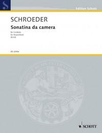 Schroeder, H: Sonatina da camera