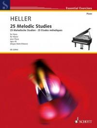 Heller, S: 25 Melodic Studies op. 45