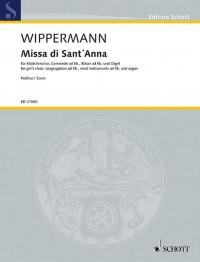 Wippermann, R: Missa di Sant´ Anna