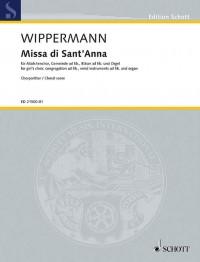 Wippermann, R: Missa di Sant' Anna