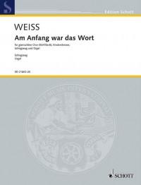 Weiss, H: Am Anfang war das Wort