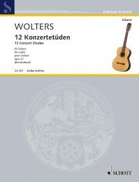 Wolters, B: 12 Concert Etudes op. 41