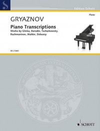 Gryaznov: Piano Transcriptions