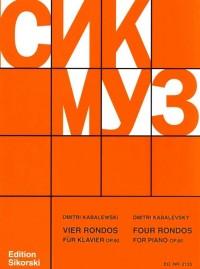 Kabalevsky, D: Four Rondos for Piano op. 60