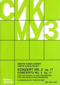 Kabalevsky, D: Cello Concerto No. 2