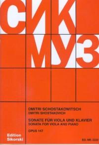 Shostakovich: Viola Sonata  in C Major op. 147