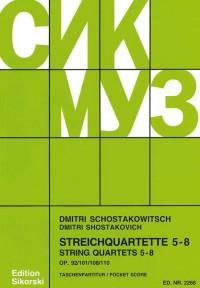 Shostakovich: String Quartets 5 - 8