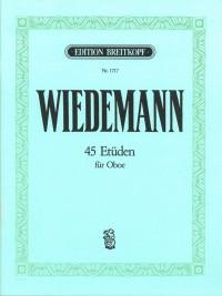 Wiedemann: 45 Etüden für Oboe