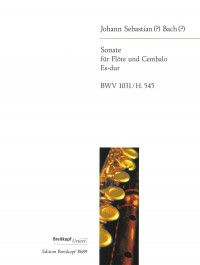 Bach, JS: Sonate Es-dur BWV 1031