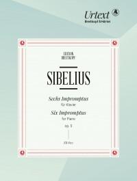 Sibelius, J: 6 Impromptus Op. 5 op. 5