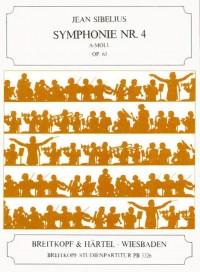 Sibelius, J: Symphony No. 4 in A minor Op. 63 op. 63