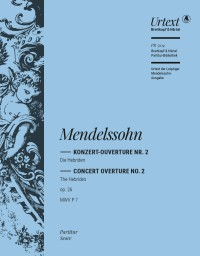 Mendelssohn: Ouvertüre Hebriden op. 26