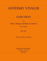 Vivaldi, A: Concerto in D minor RV 454  RV 454