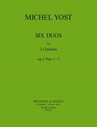 Yost: Sechs Duos op. 5, Nr. 1-3
