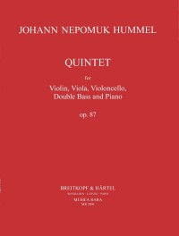 Hummel: Klavierquintett Es-dur op. 87