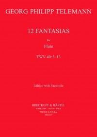 Telemann: 12 Fantasias TWV 40:2-13