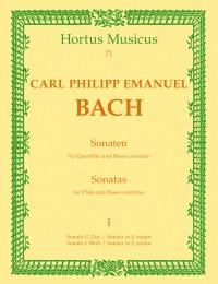 Bach, CPE: Sonatas (2), Vol.1: in G & E minor (Wq 123 & 124)