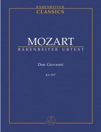 Mozart, WA: Don Giovanni (complete opera) (It) (K.527) (Urtext)