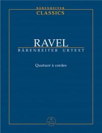 Ravel, M: String Quartet (Urtext)