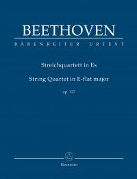 Beethoven, Ludwig van: String Quartet in E-flat major op. 127