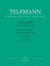 Telemann, G: Solo in B minor (Tafelmusik No.1 1733) (TWV 41: h4) (Urtext)