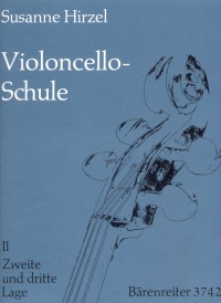 Hirzel, S: Cello Method, Vol. 2: Second and Third Position (G)