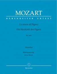 Mozart, WA: Marriage of Figaro (complete opera) (It) (K.492) (Urtext)