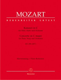 Mozart, WA: Concerto for Flute and Harp in C (K.299) (K.297c) (Urtext)