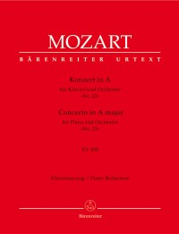 Mozart, WA: Concerto for Piano No.23 in A (K.488) (Urtext)