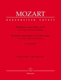 Mozart, WA: Sinfonia concertante in E-flat (K.364) (K.320d) for Violin, Viola & Orchestra (Urtext)