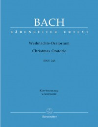 Bach, JS: Christmas Oratorio (BWV 248) (Urtext) (G-E)