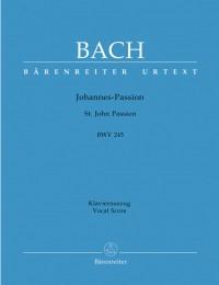 Bach, JS: Saint John Passion (BWV 245) (Urtext) (G-E)