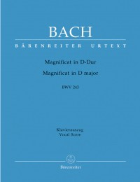 Bach, JS: Magnificat in D (BWV 243) (Urtext)